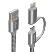 Mobile Phone Cables-ESR charging and data transfer cable for Apple devices on JD