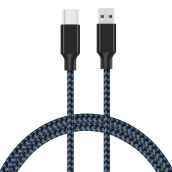 Mobile Phone Cables-GiGiboom  Type C Cable USB Type-C Cable Fast Charge & Data Transfer Heavy Duty with High Strength Braided Nylon on JD