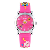 Kid's Watches-SKMEI 1047 Childrens Lovely Design 3D Cartoon Pattern Silicone Band Wrist Watch on JD