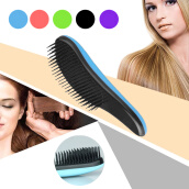 Hair Clippers & Trimmers Машинки для стрижки волос-MyMei Magic Handle Tangle Detangling Comb Shower Hair Brush Salon Styling Tamer on JD