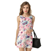 Casual-Women's Summer Wear to Work Slim Fit Print Dresses on JD