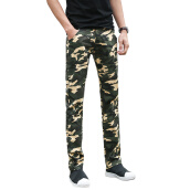 Casual Pants-New Men Cargo Pants 2016 Hot Sale Camouflage Men Fashion Pants Slim Fits Pockets Men Casual Cargo Pants Size 38 Free Shipping on JD