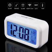 Furniture Décor-Led Digital Electronic Alarm Clock Backlight Time With Calendar+Thermometer on JD