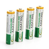 Electronic Accessories-4pcs BTY 1.2V AAA 3A 1350mAh Ni-MH Rechargeable Battery for RC Toys Camera on JD