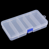 Fishing Lures Приманка-Transparent Plastic Fishing Lure Bait Box Storage Organizer Container Case on JD