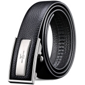 Belts-Seven wolves male belt leather leather automatic buckle layer cowhide belt male models within the design do not reveal the tail 7A319497000 black on JD