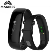 Умные браслеты-Makibes M88 Bluetooth Heart Rate Blood Pressure Monitor Smart Bracelet Health Tracker IP67 Waterproof For iOS Android on JD