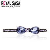 Hair Jewelry-Royalsasa (Royalsasa) Headdress Accessories Accesories Spring Clip Discs Small Top Sidepins Crystal Imitation on JD