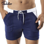 Swimming-Taddlee Brand Men's Swimwear Swim Beach Board shorts swim trunks Swimsuits Bathing Suits Men Swimming Boxer Surf Wear Gay on JD