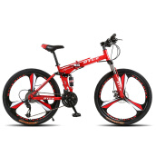 Bikes-BYUEBIKE three knife one wheel folding mountain bike on JD
