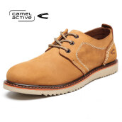 Other Men's Shoes-Camel Active Wild lace casual shoes trendy fashion men 's red brown 41 on JD