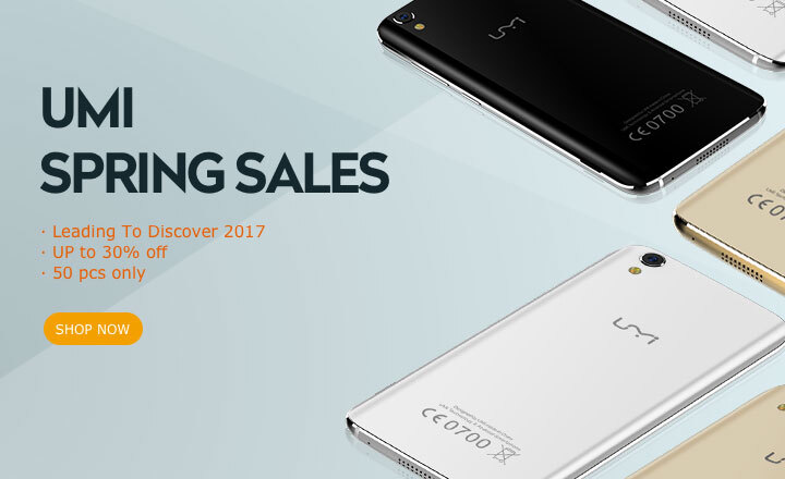 Buy  UMI smartphone with discount on Joybuy.com
