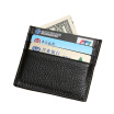 Clothing Loves / Fashion Mens Leather Certificate Holder Multi-card Bag Simple Coin Bags