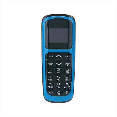 LONG-CZ V2 BT Mini Feature Phone 2G Mobile Phone 066-inch 64MB64MB Big Speaker Loud Volume Voice Changer Phonebook Call SMS Alar