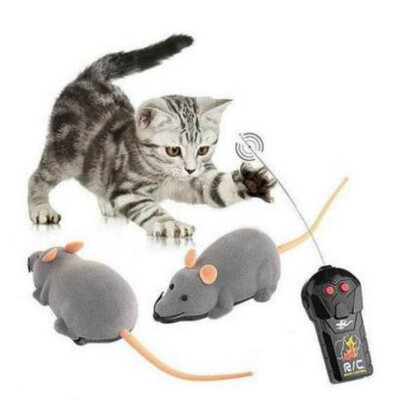 RC rat new remote control rc mouse wireless cat dog pet toy