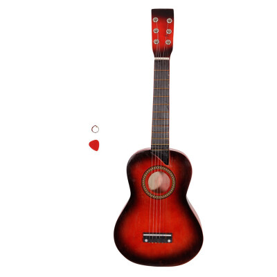 """Ktaxon 25"""" Inch Acoustic Toy Guitar for Kids with Guitar Pick Extra Guitar String Pink"""