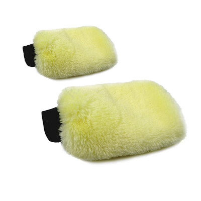 Useful Car Auto Cleaning Glove Towels Car Motorcycle Artificial Wool Soft Washer Brush Car Care Wash Cleaning Tool Best Gift New A