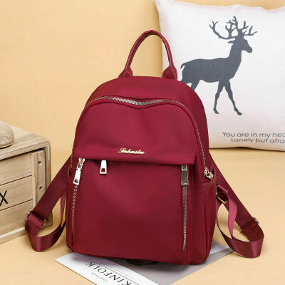 Women Oxford Backpack Anti-theft Rucksack Girls School Travel Shoulder Handbag