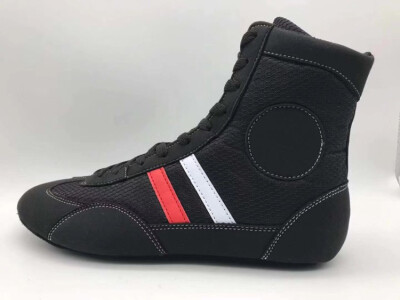 samboo boots soft bottom sang wrestling shoes boxing Sanda shoes fighting shoes training competition men&women with the same