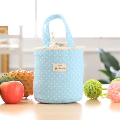 Handbag Women Llunch Bag Bolsa Termica Thermal Insulated Lunch Box Cooler Bag Tote Bento Pouch Lunch Container Drop Shipping