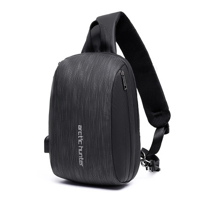 New mens chest bag one shoulder bag leisure satchel youth business travel large capacity multi-function small backpack man