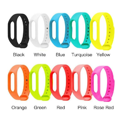 Replacement Watch Band Sport Wristband Adjustable Wrist Strap TUP Silicone Material Comfortable High Elasticity for M2 Smart Brace