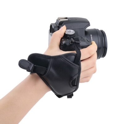 PU Leather Soft Camera Hand Grip Wrist Strap for Canon Nikon Sony SLR/DSLR