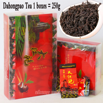 250g Dahongpao Oolong Tea&Black Tea Health Care Tea Wuyishan High-grade Dahongpao Oolong Tea China