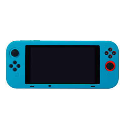 Shadow level iNSIST Nintendo Switch ns handheld game console protective cover integrated silicone protective shell non-slip shatter-resistant host accessories SWITCH-YD blue