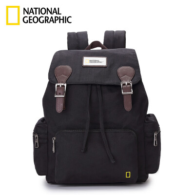 National Geographic National Geographic Travel Backpack Men&Women Military Travel Sports Backpack Waterproof Leisure College Couples School Bag Student Khaki