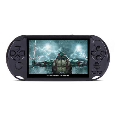 Coolboy X9 5.0 Inch Handheld Game Player Support TV Output With MP3/Movie Camera Handheld Game Console