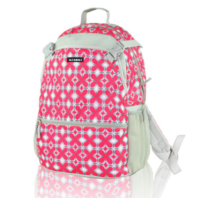 Lan Duo Mummy bag backpack sports and leisure large-capacity multi-functional computer package LD0520 stone