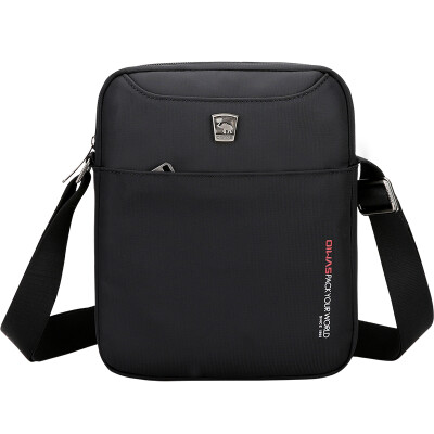 Aihua OIWAS casual fashion shoulder bag fashion Messenger bag outdoor sports men&women package 5551 black