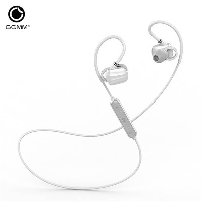GGMM W710 Wireless Sport Earphones Bluetooth 4.1 Music Earbuds with Microphone Noise Cancelling Voice Control Hands free Headset